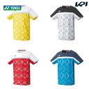 ヨネックス YONEX バドミントンウェア メンズ メンズゲームシャツ(フィットスタイル) 10340 2020FW