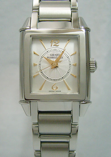Girard-Perregaux vintage 1945 SS breath silver ladies GP25900.1.11.117A
