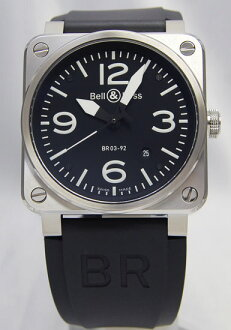 Bell & Ross aviation type military spec br03-92 Automatic black