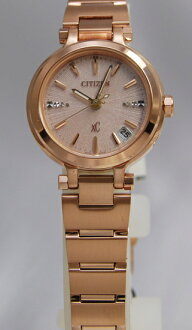 Citizen cloth-eco-drive radio watch ladies XCB38-9243