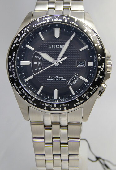 Citizen CITIZEN collection eco-drive radio clock world time CB0027-69E