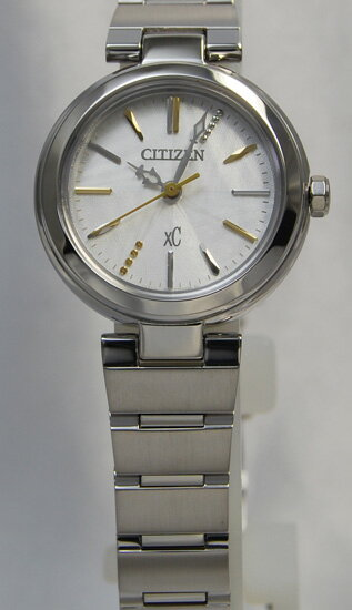 Citizen cloth-eco-drive silver women's FE2020-58 A