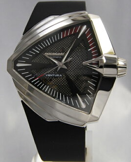 Hamilton Ventura XXL SS black H24655331