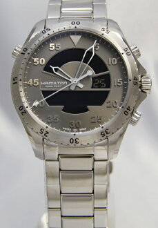 Hamilton Khaki flight timer gray H64514181