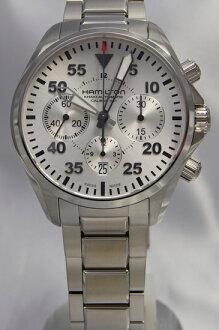 Hamilton Khaki pilot automatic chronograph H64666155
