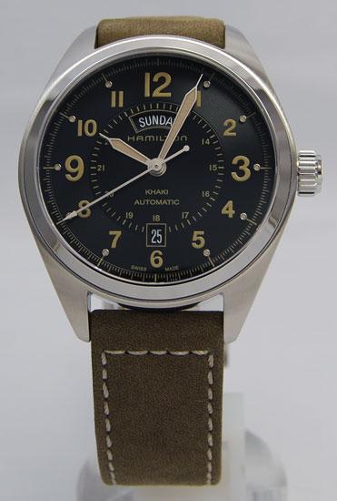 ハミルトン カーキフィールド デイデイト オートH70505833 【Hamilton】【腕時計】【新品】