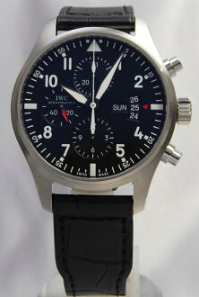 IWC pilot's watch chronograph BK IW377701