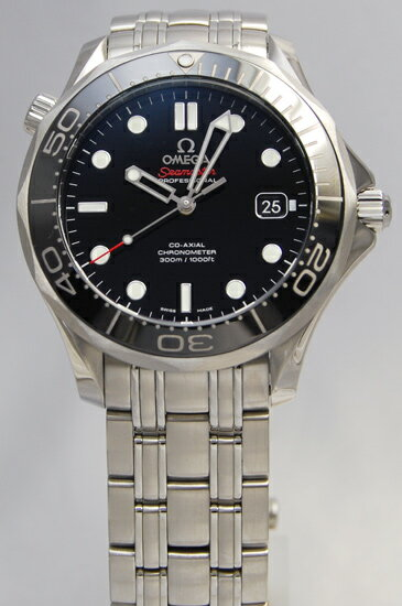 Omega / Seamaster 300 m chronometer /SS black 212.30.41.20.01.003
