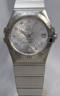 Omega / Constellation 35 mm/AT / silver 123.10.35.20.52.002