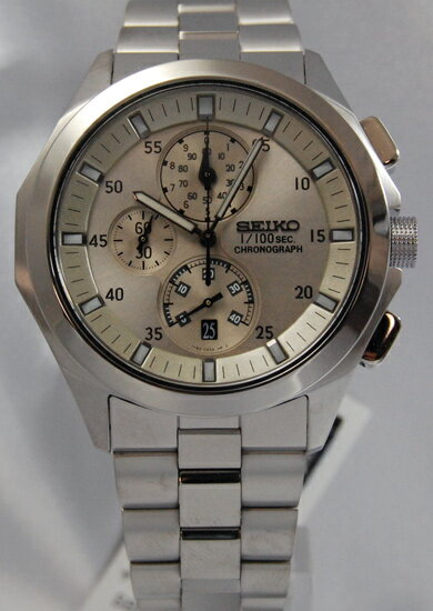 Seiko ignition 1 / 100 sec chronograph SBHP007