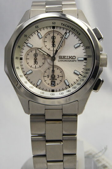 Seiko ignition alarm chronograph SBHN005
