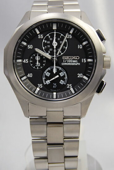 Seiko ignition 1 / 100 sec chronograph SBHP003