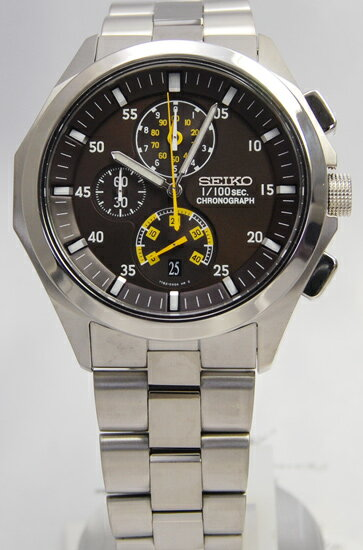 Seiko ignition 1 / 100 sec chronograph SBHP005