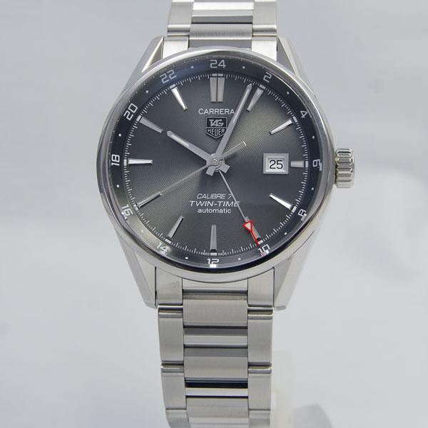 タグ ホイヤーカレラ キャリバー7 ツインタイムWAR2012.BA0723 【TAG HEUER】【腕時計】【新品】