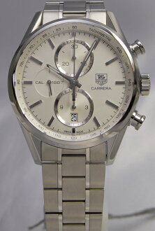 Tag Heuer Carrera Chronograph calibre 1887 CAR 2111. BA0720