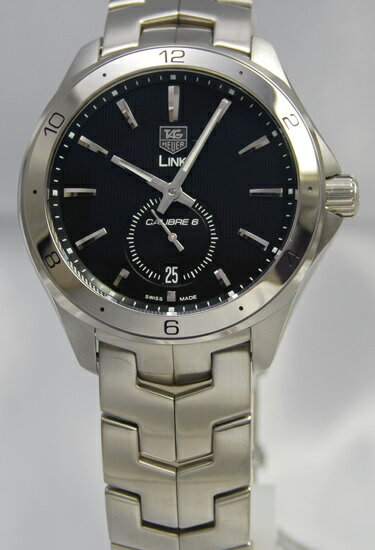 Tag Heuer link calibre 6 small second BK WAT2110... BA0950
