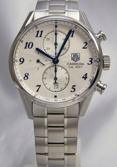 Tag Heuer Carrera 1887 heritage chronograph CAR2114. BA0724