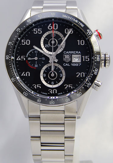 Tag Heuer Carrera 1887 chronograph CAR2A10. BA0799