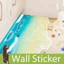 床 トリックアート 海 ウォールステッカー 砂浜 だまし絵 ウォールステッカー 北欧 ウォールステッカー 木 ウォールステッカー ツリー ウォールステッカー トイレ ウォールステッカー アルファベット ウォールステッカー 英字 植物 グリーン ポスター 05P05Nov16