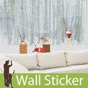 ウォールステッカー クリスマス 飾り 壁紙 Merry Christmas and happy new year クリスマス飾り クリスマスツリー サンタクロース 月 雪 ウォールステッカー 北欧 ウォールステッカー 木 ウォールステッカー 英字 壁紙 ウォールステッカー 05P05Nov16