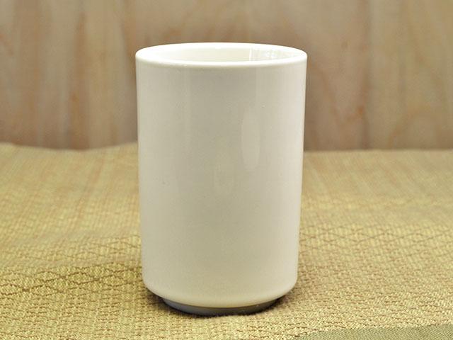 切立 長湯呑 クリーム [ 湯呑み 湯飲み 湯のみ 陶器 ][ アウトレット 訳あり特価品 ][ あす楽対応 ]
