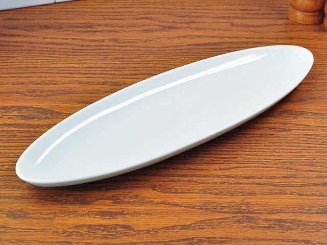 フォンテオーバル長皿245cm[白い食器楕円皿洋食器][業務用]