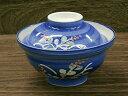 蓋丼 野花 ルリ巻 蓋付き フタ付き 土用の丑の日 どんぶり 和食器 陶器