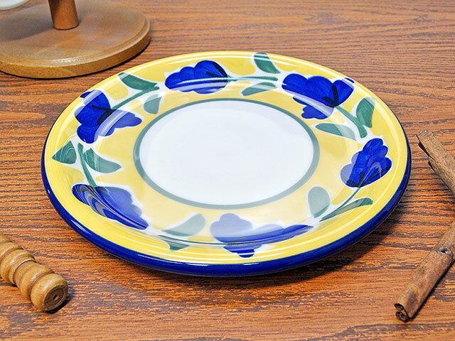 イタリア風食器カンパーニャ19cmケーキ皿[丸皿プレートAldeaKOYO]