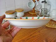 イタリア風食器 コスタ 22.5cm カレース...の紹介画像2
