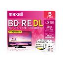 マクセル 録画用BD-RE DL BEV50WPE.5S ホワイト
