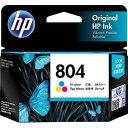 日本HP インクカートリッジ カラー T6N09AA(HP804 カラー)