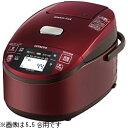 【期間限定特価】【送料無料】日立 IHジャー炊飯器 1升炊き「圧力&スチーム 蒸気カット 極上炊き」メタリックレッド RZ-MV180K(R) RZMV180KR【入荷まで約3週間】