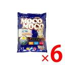 クリーンミュウ 紙の猫砂 モコモコオリジナル 8L ×6個セット(4990968203246)