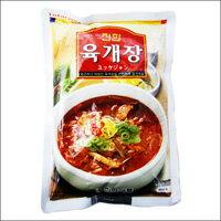 【韓国商店街】ジンハン ユッケジャン レトルトパウチ 600g 【韓国食品】【キムチ鍋】【チゲ鍋】