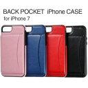 BACK POCKET iPhone7 スマホケース 手帳型...