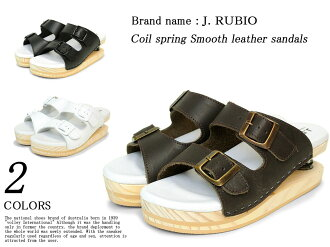 2101 Coil springs smooth leather Sandals 3 colors women's SS10P03mar13