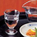 【日本製】 冷酒グラス てびねり ガラス 脚付ミニグラス 3個セット (1個当たり315円) アデリア Φ60×H85mm(75ml 3oz) P-6698