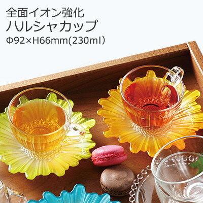 耐熱 ガラス コーヒーカップ ハルシャ Φ92×H66mm(230ml) UN-2052