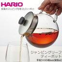 HARIO ハリオ 耐熱 ガラス ティーポット ジャンピング...