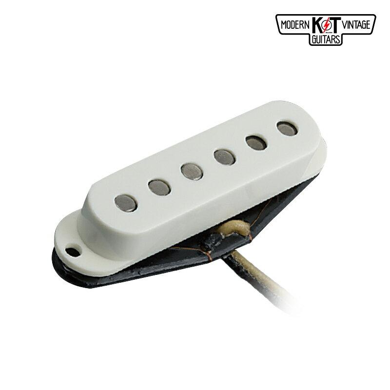 K&T S63《エレキギター用 ピックアップ/シングル/カバー付》【全品送料・手数料無料!】 【S63】S極トップ代表機種、ハイゲインアンプでも解像度が高い。