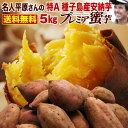 さつまいも 安納芋 早割 鹿児島 種子島産 生芋 糖度40度 特Aプレミア蜜芋5kg ギフト