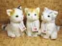 ネコのぬいぐるみ童心【日本製】ネコS 座【母の日】【プレゼント】【定型外郵便物対応商品】