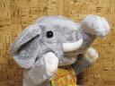 ゾウのぬいぐるみTAKEOFFハンドパペット ゾウ【ぬいぐるみ/ハンドパペット】【定型外郵便物対応商品】【コンビニ受取対応商品】