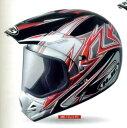 【20,000円以上送料無料】【KAWASAKI純正】HJCヘルメット SUPERMOTO アクセス MC-1( レッド )Mサイズ