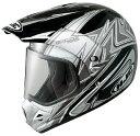 【20,000円以上送料無料】【KAWASAKI純正】HJCヘルメット SUPERMOTO アクセス MC-5( ブラック )XLサイズ