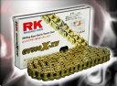 RKチェ−ン●GV525X-XW130 ゴールド 525-130