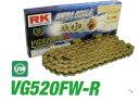 RKチェ−ン VG520FW-R-110 ゴールド520-110