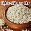 国産大麦(押麦)たっぷり1kg 送料無料★大麦β-グルカンな...