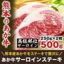 熊本県産 あか牛 高級部位サーロインステーキ ボリューム満点の250g×2枚《3-14営業日以内に順次出荷(土日祝日除く)》