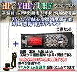 ユニデン社 HF/VHF/UHF マルチバンド 高性能 広帯域 瞬間同調 固定&車載情報受信機 & 25〜1300MHz広帯域受信ガラスマウント アンテナ 新品 格安 即納